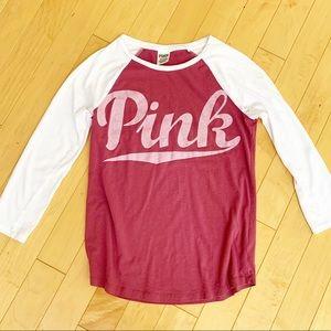 VS PINK Baseball Shirt